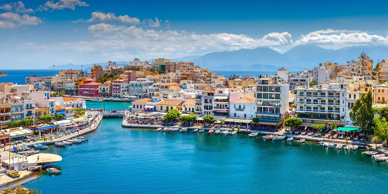 Agios Nikolaos auf der Insel Kreta