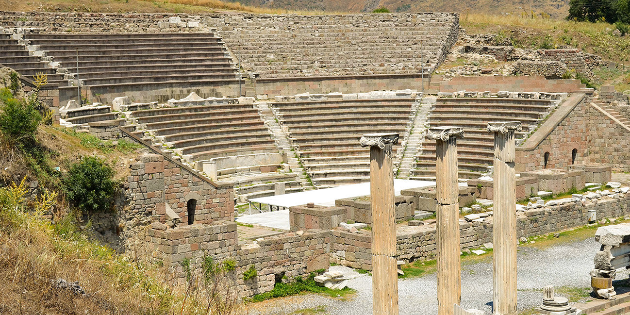 Das Asklepion auf der griechischen Insel Kos