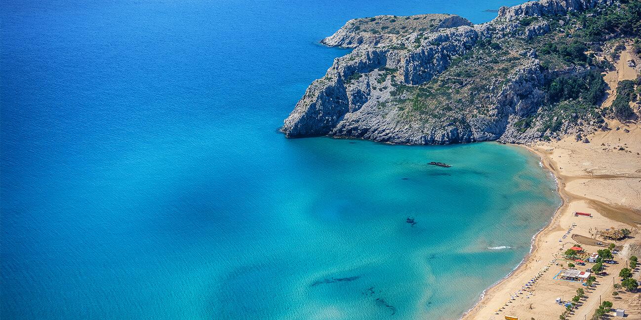 Bucht von Tsambika_Griechenland