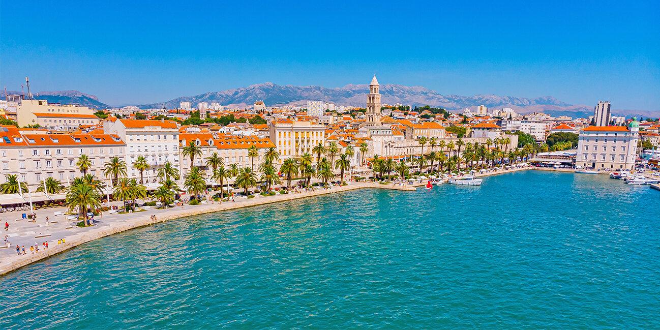 Dalmatien Split Kroatien Urlaab