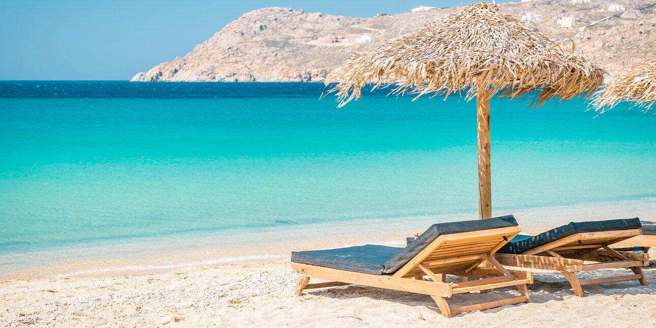 Elia Beach von Mykonos