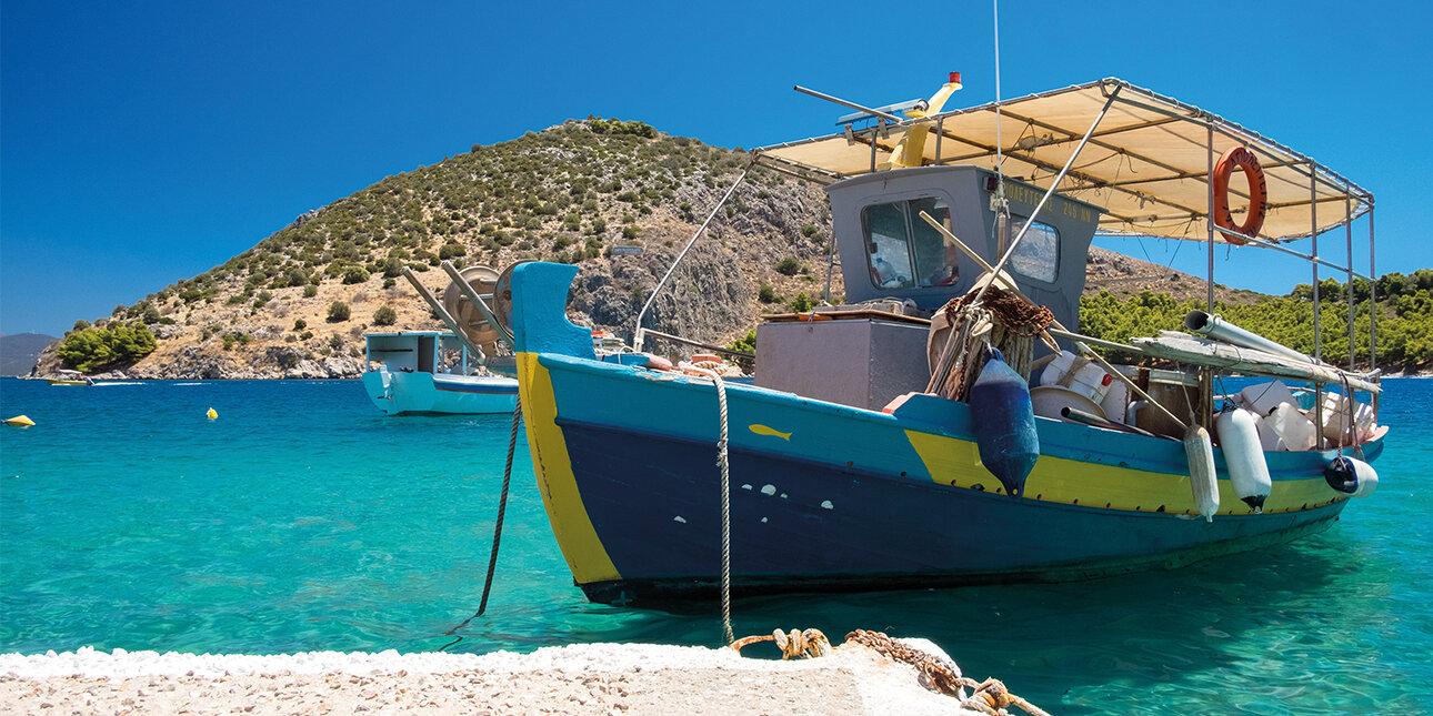 Fischerboot Peloponnes_Griechenland
