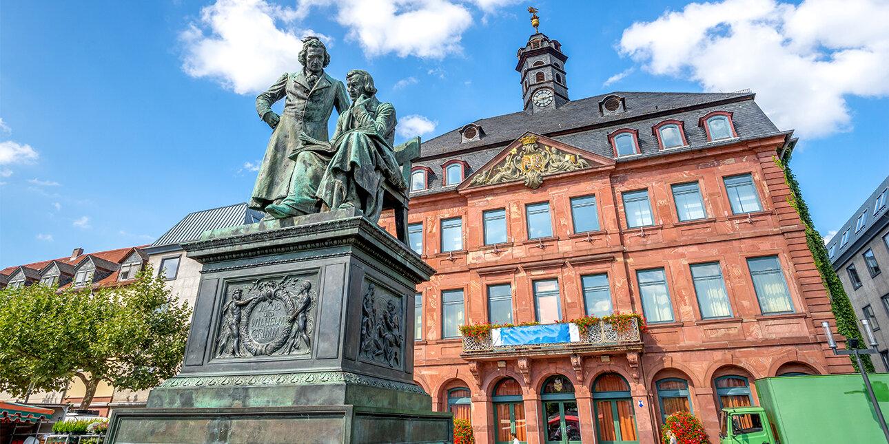 Brüder-Grimm-Denkmal in Hanau