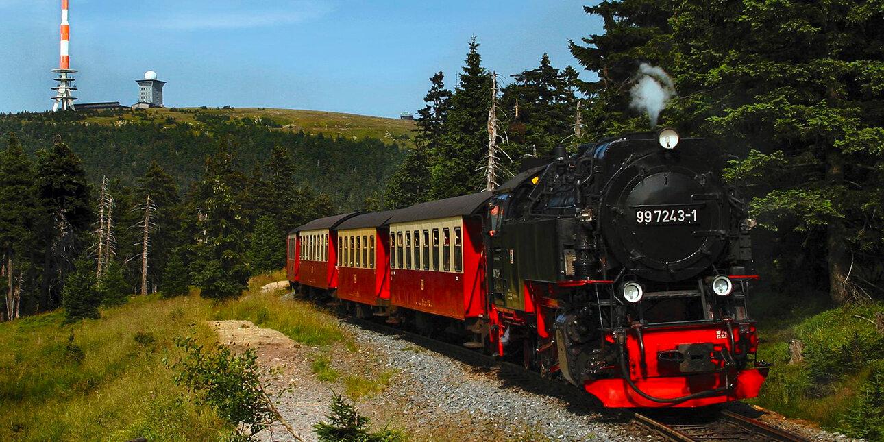 Harzer Schmalspurbahn am Brocken
