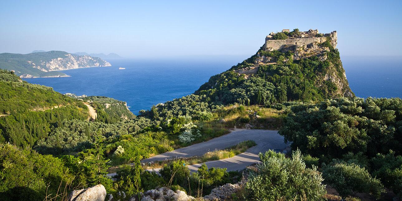 Insel Korfu_Festung Angelokastro_Griechenland