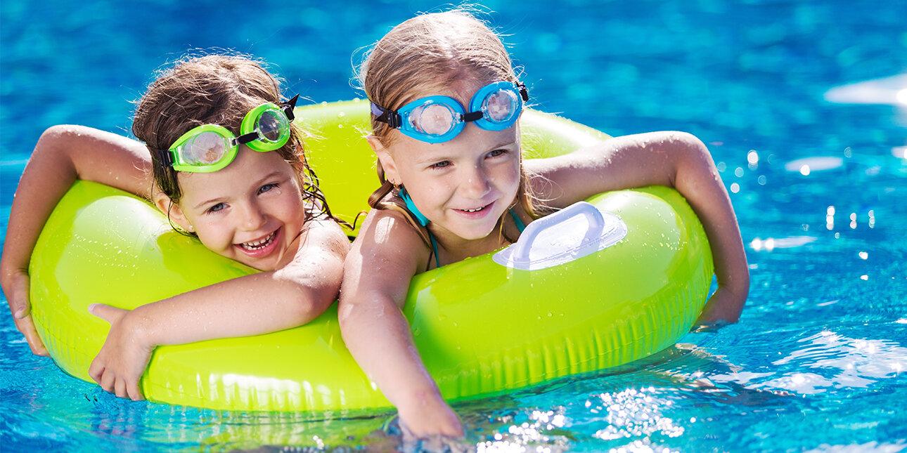 Kinder im Aquapark_Griechenland