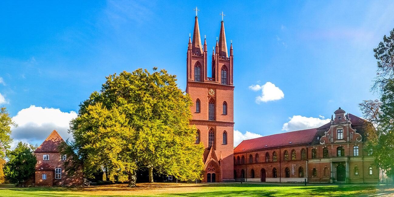 Kloster Dobbertin in Mecklenburg-Vorpommern, Deutschland
