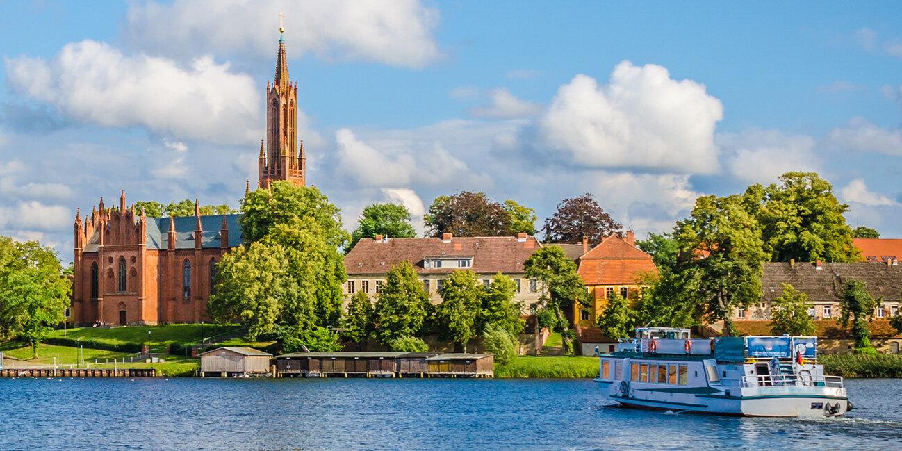 Klosterkirche Malchow, Mecklenburgische Seenplatte, Deutschland