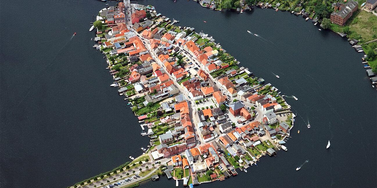Die einzige Inselstadt von Deutschland