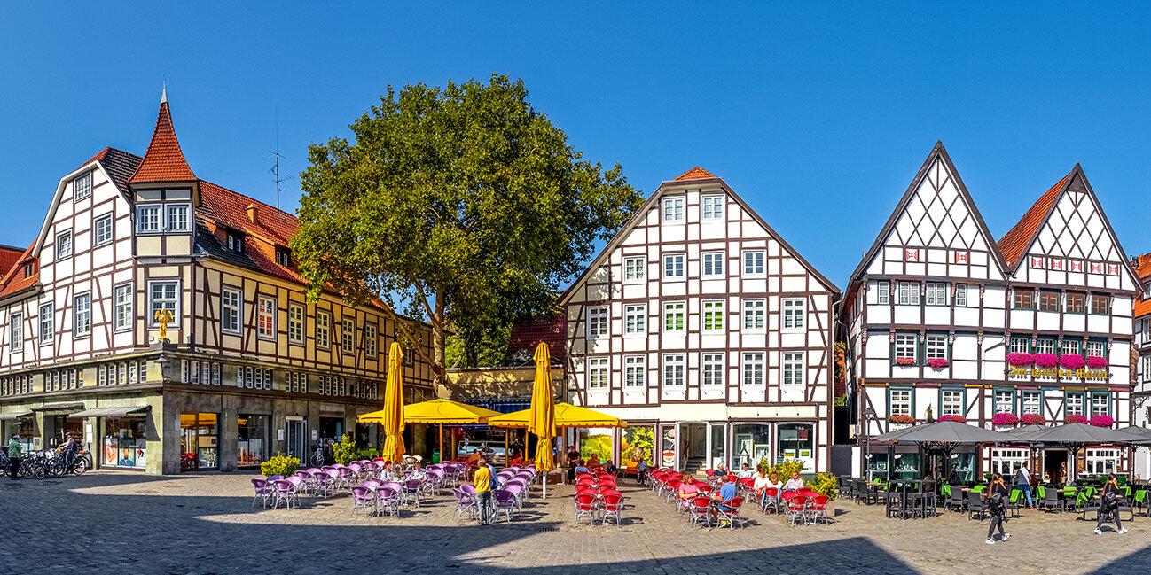 Marktplatz von Soest im Sauerland