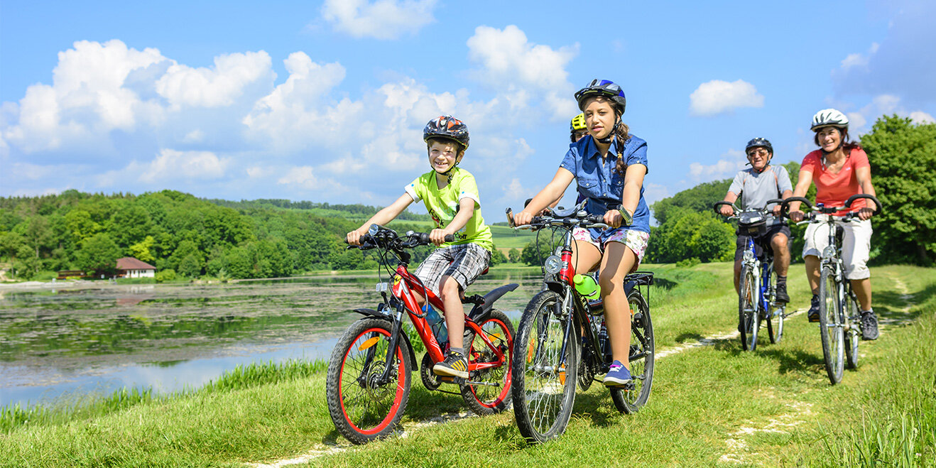 Radreisen mit der Familie