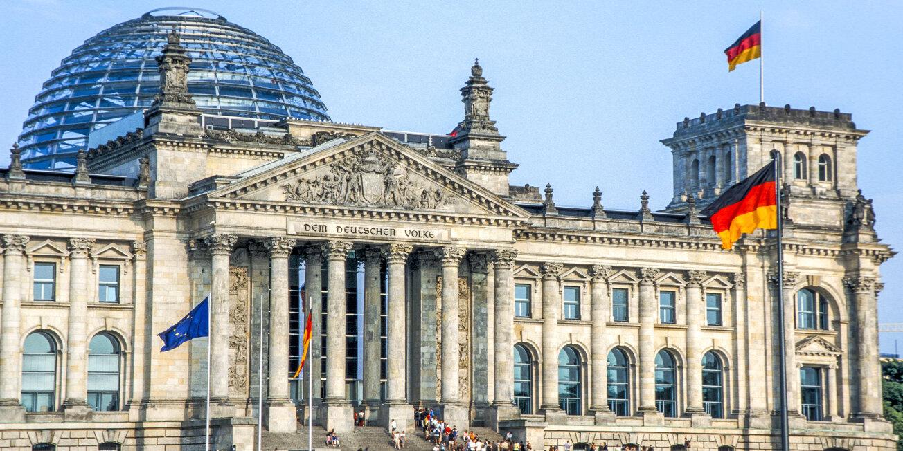 Reichstag Berlin Sehenswürdigkeit