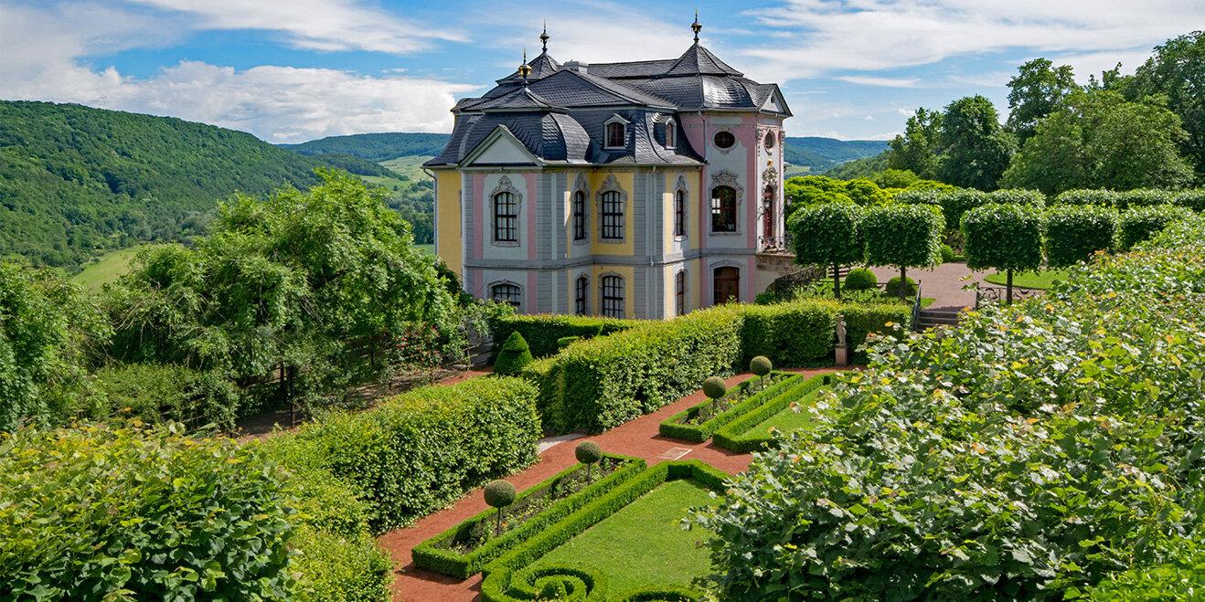 Rokokoschloss Dornburg_Saale-Unstrut