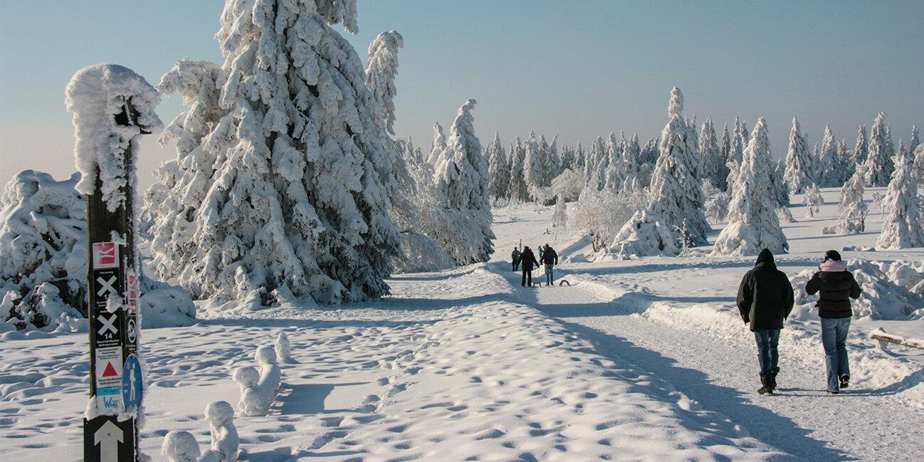 Urlaub im winterlichen Sauerland