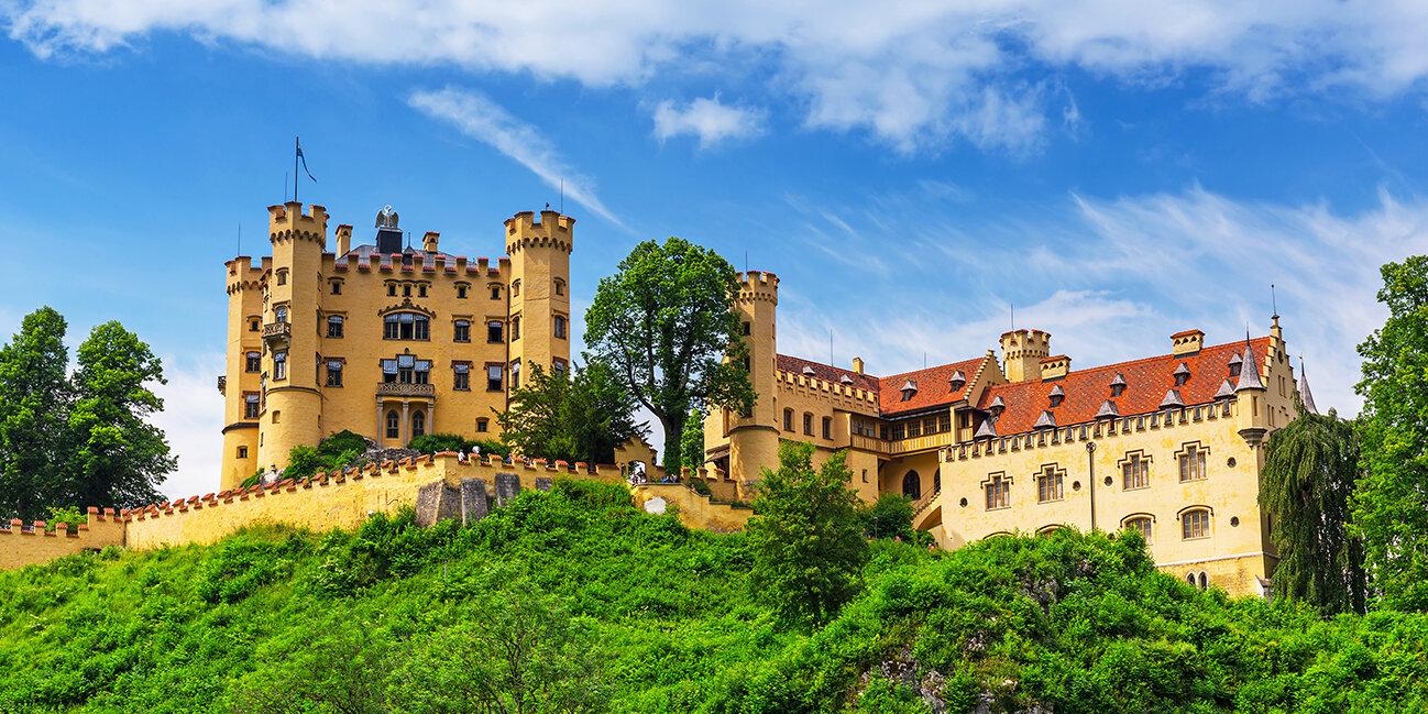 Schloss Hohenschwanstein im Allgäu