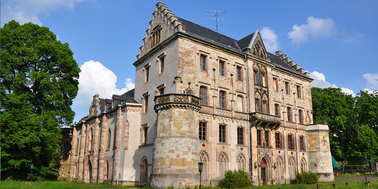 Schloss Reinhardsbrunn im Thüringer Wald