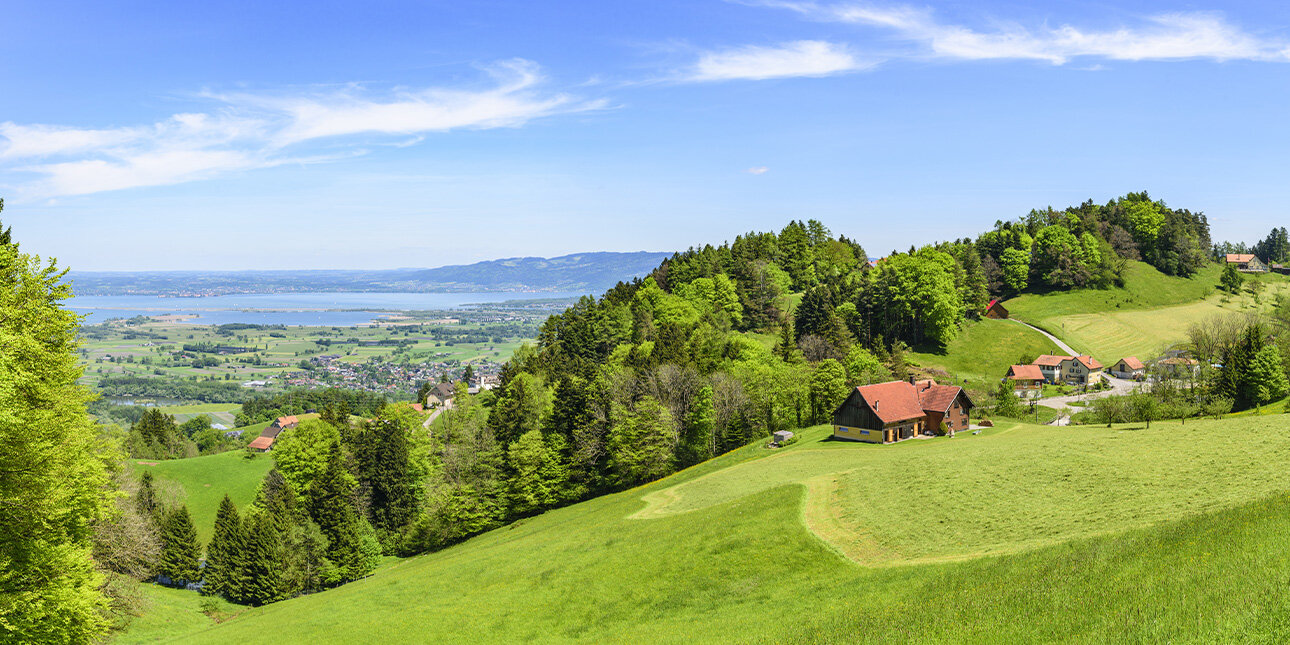 Schweizer Bodensee in der Ostschweiz