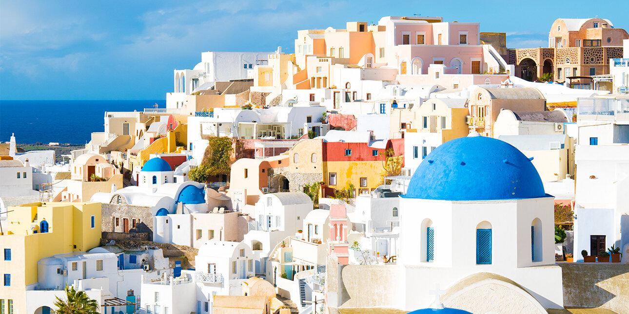 Insel Santorin in Griechenland