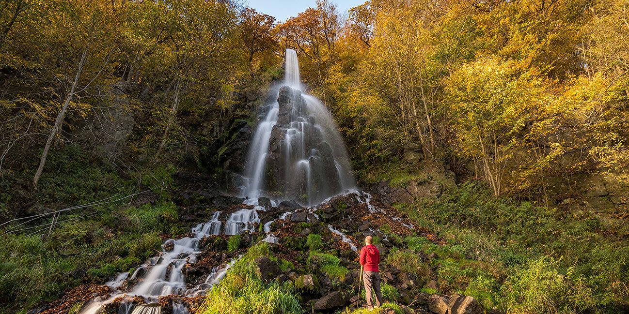 Trusetaler Wasserfall im Thüringer Wald