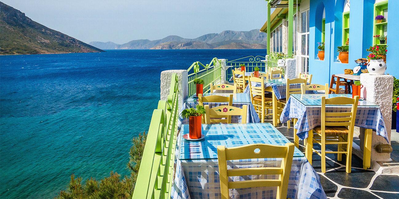 Typisches griechisches Restaurant_Griechenland