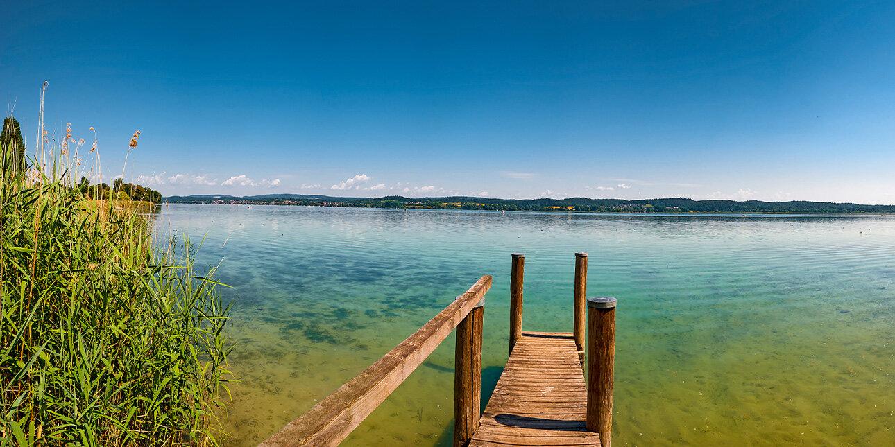 Ufer auf Reichenau, Bodensee