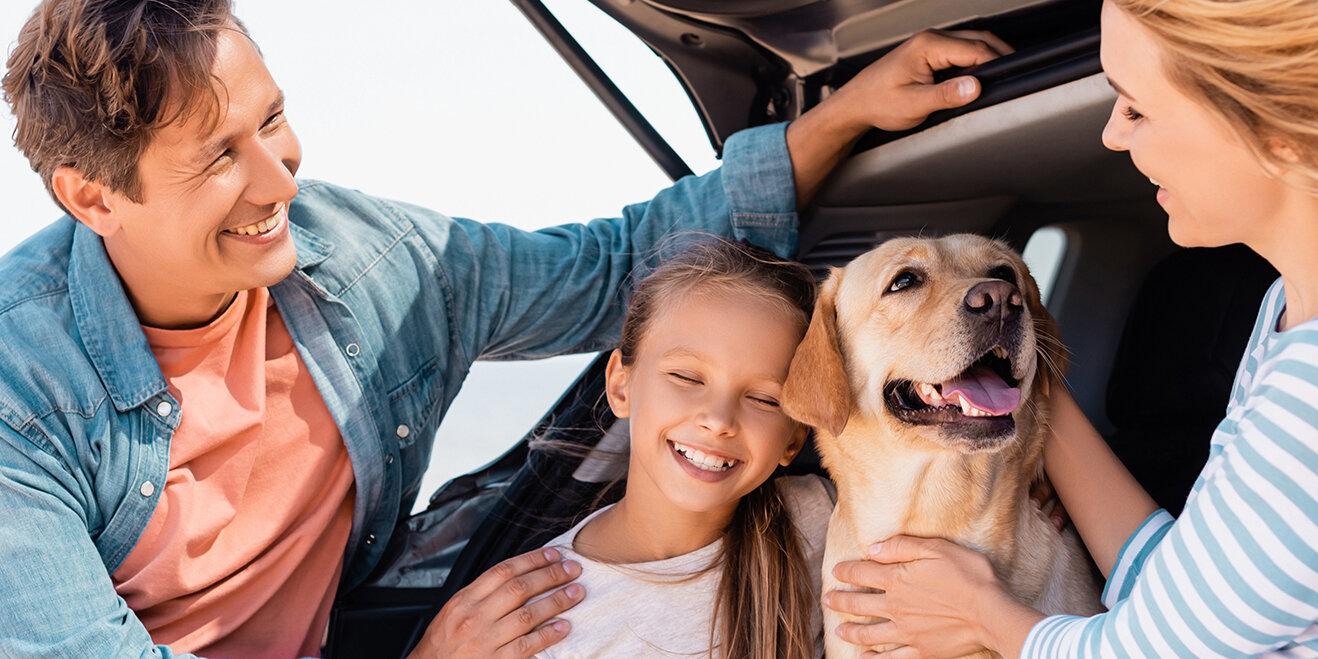 Urlaub mit Hund und der Familie