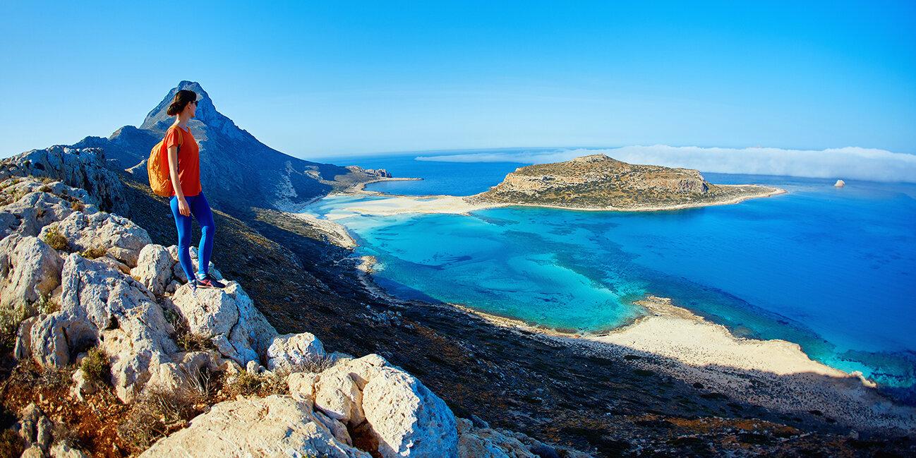 Wandern in den Bergen von Kreta_Griechenland