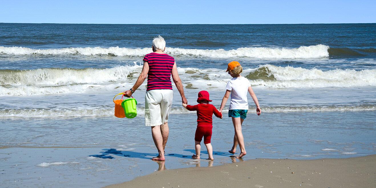 Strandurlaub mit der Familie