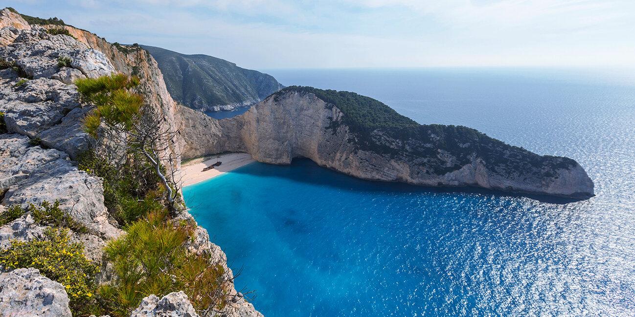 Zakynthos wreck_Bucht in Griechenland