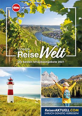 Blätterkatalog ReiseWelt 2021 Eigenanreisen
