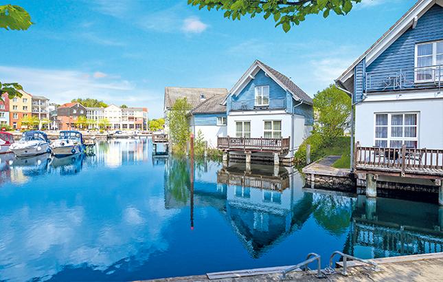 Precise Resort Marina Wolfsbruch, Ferienhäuser am Wasser