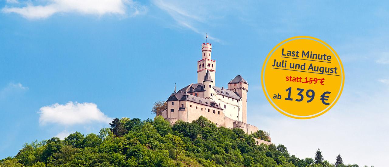 Urlaub am Mittelrhein