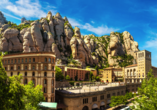 Auch das Kloster Montserrat ist einen Besuch wert.