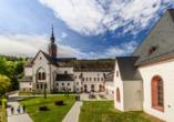 Kloster Eberbach mit eigenem Weingut gehört zu den bedeutendsten Kunstdenkmälern Eruopas.