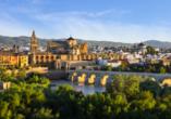 Andalusien und seine Schätze, Puente Nuevo und Mezquita de Córdoba
