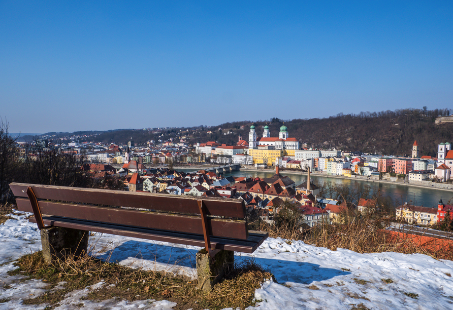 Die wunderschöne Stadt Passau lädt zum Verweilen ein!
