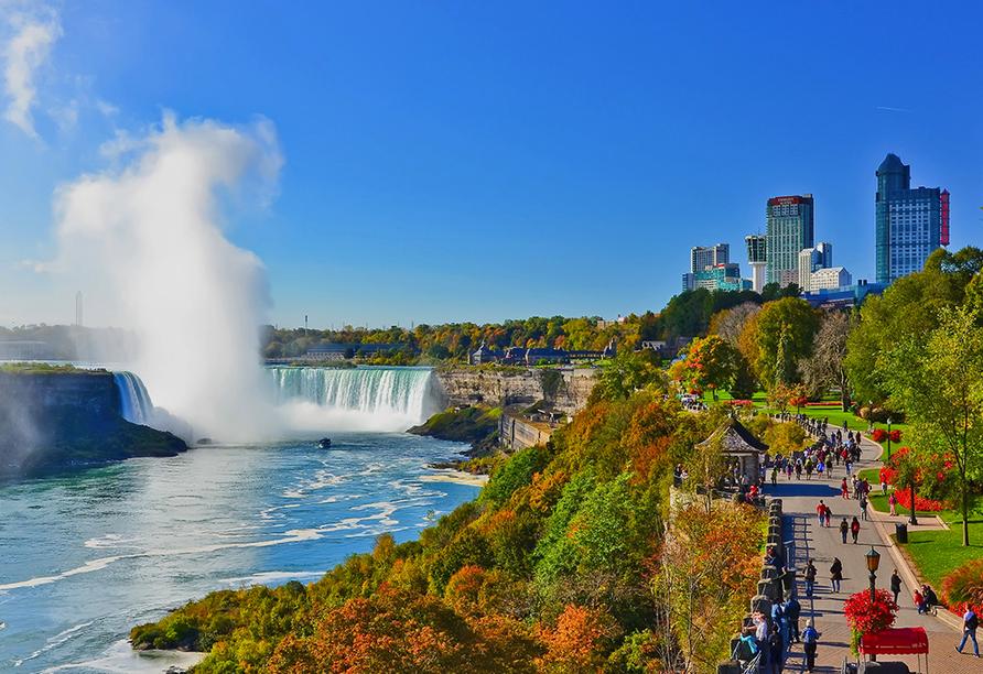 Erlebnisreise Osten Kanada, Niagara Fälle