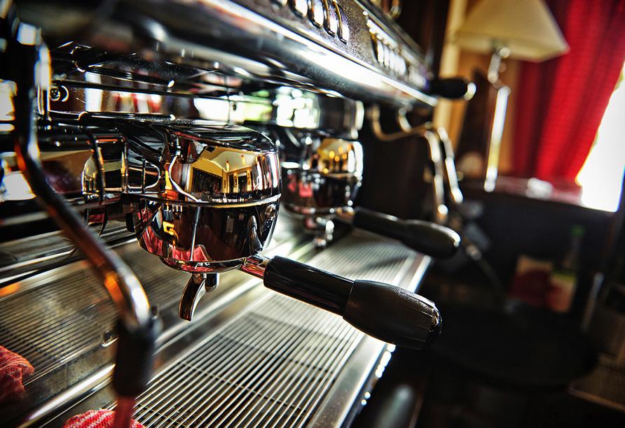Hotel Mona Lisa in Kolberg, Kaffee