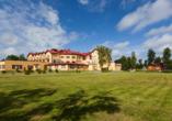Hotel Bernstein in Dabki-Bobolin Ostsee Polen, Außenansicht