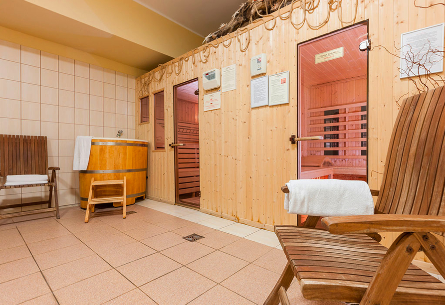Hotel Bernstein in Dabki-Bobolin Ostsee Polen, Sauna