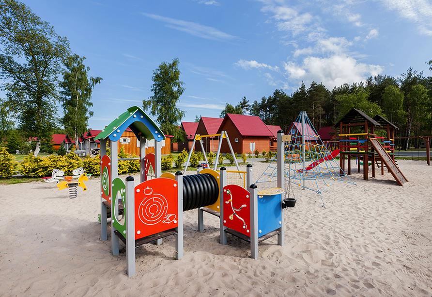 Hotel Bernstein in Dabki-Bobolin Ostsee Polen, Spielplatz