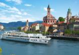 MS Sofia, Außenansicht vor Passau