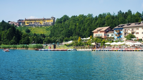 Grand Hotel Astoria, Blick vom Lago di Lavarone
