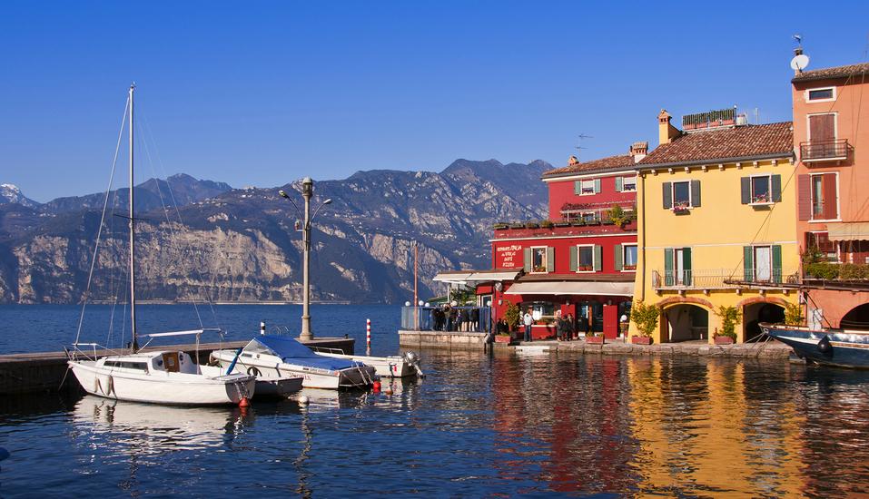 Hotelkomplex Palme, Blick auf den See