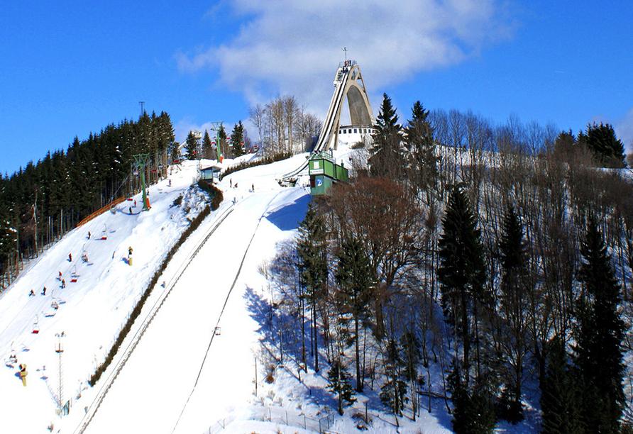 Hotel Hochland, Ausflugsziel Sprungschanze Winterberg