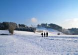 Hotel Hochland, Wandern Winter