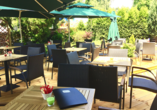 Hotel DaVinci in Marienbad, Terrasse