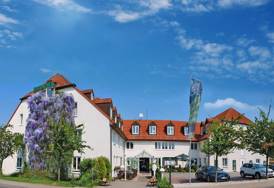 Hotel Residenz in Leipzig-Hohenheida, Außenansicht