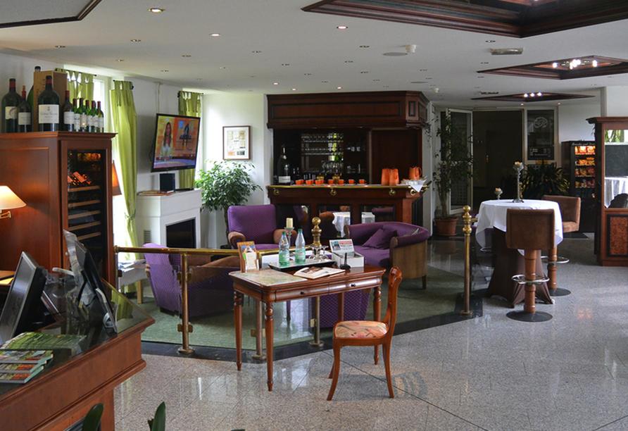 Hotel Residenz in Leipzig-Hohenheida, Lobby
