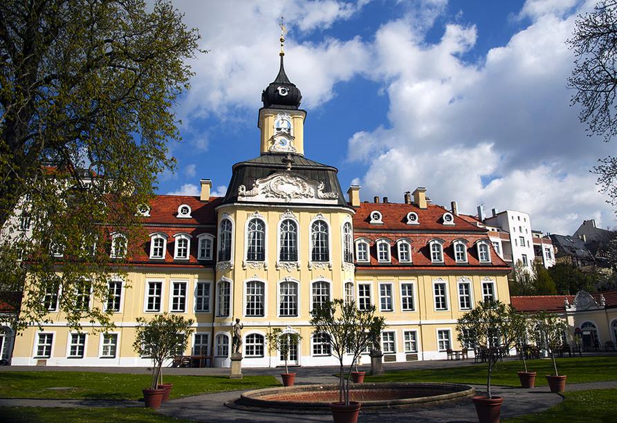 Hotel Residenz in Leipzig-Hohenheida, Ausflugsziel Gohliser Schlösschen